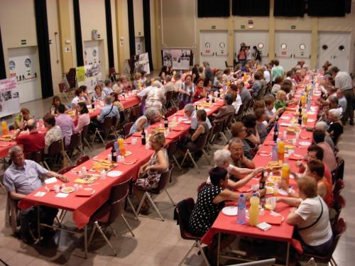 Imatge del sopar de fi de curs del curs 2013-2014