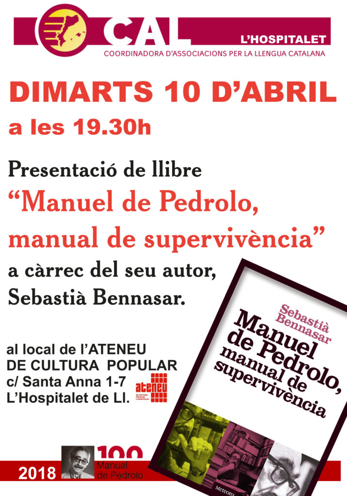 CARTELL CAL PEDROLO