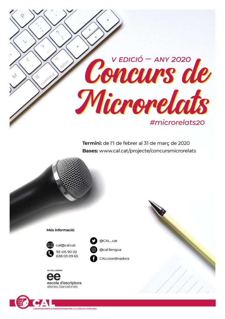 Cartell Microrelats 2020