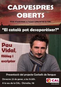 Cartell Pau Vidal-GLl