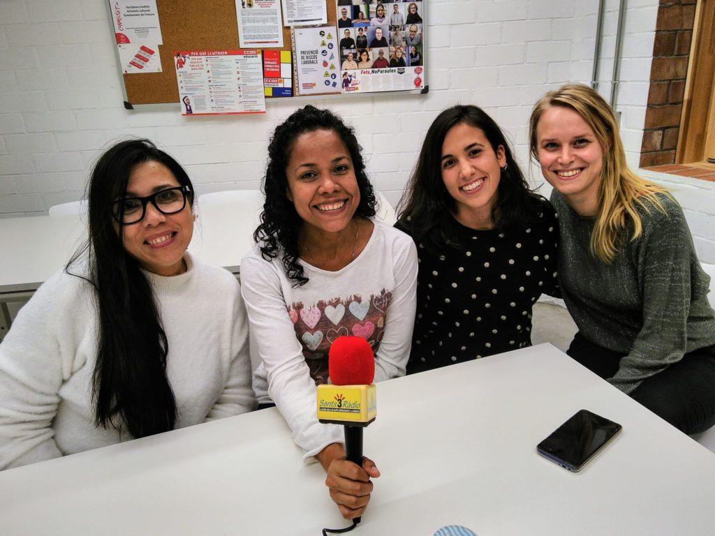 2020-02-08 Carla, María Elena, Aracelis i Sylvia 1