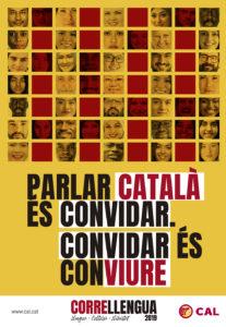 Cartell Parlar catala es convidar