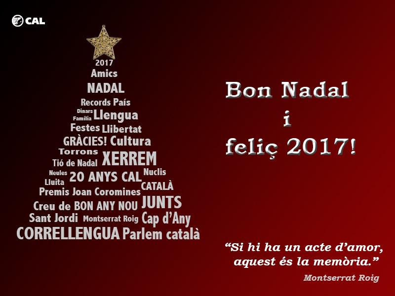 Postals de nadal amb foto en catala